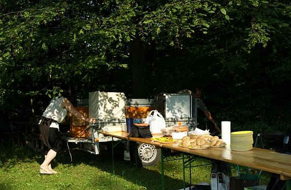 Grill on Tour - Bachwirtsiedlung